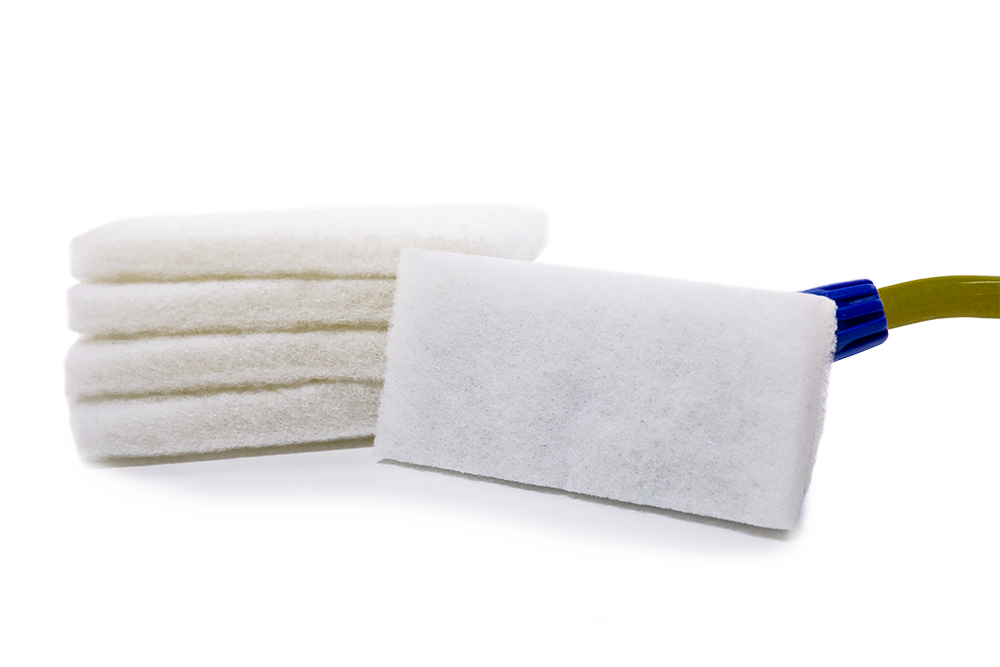 White Cleaning Pads 5 Pack featured image