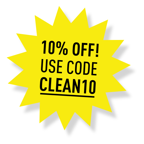 10% Off! Use Code CLEAN10
